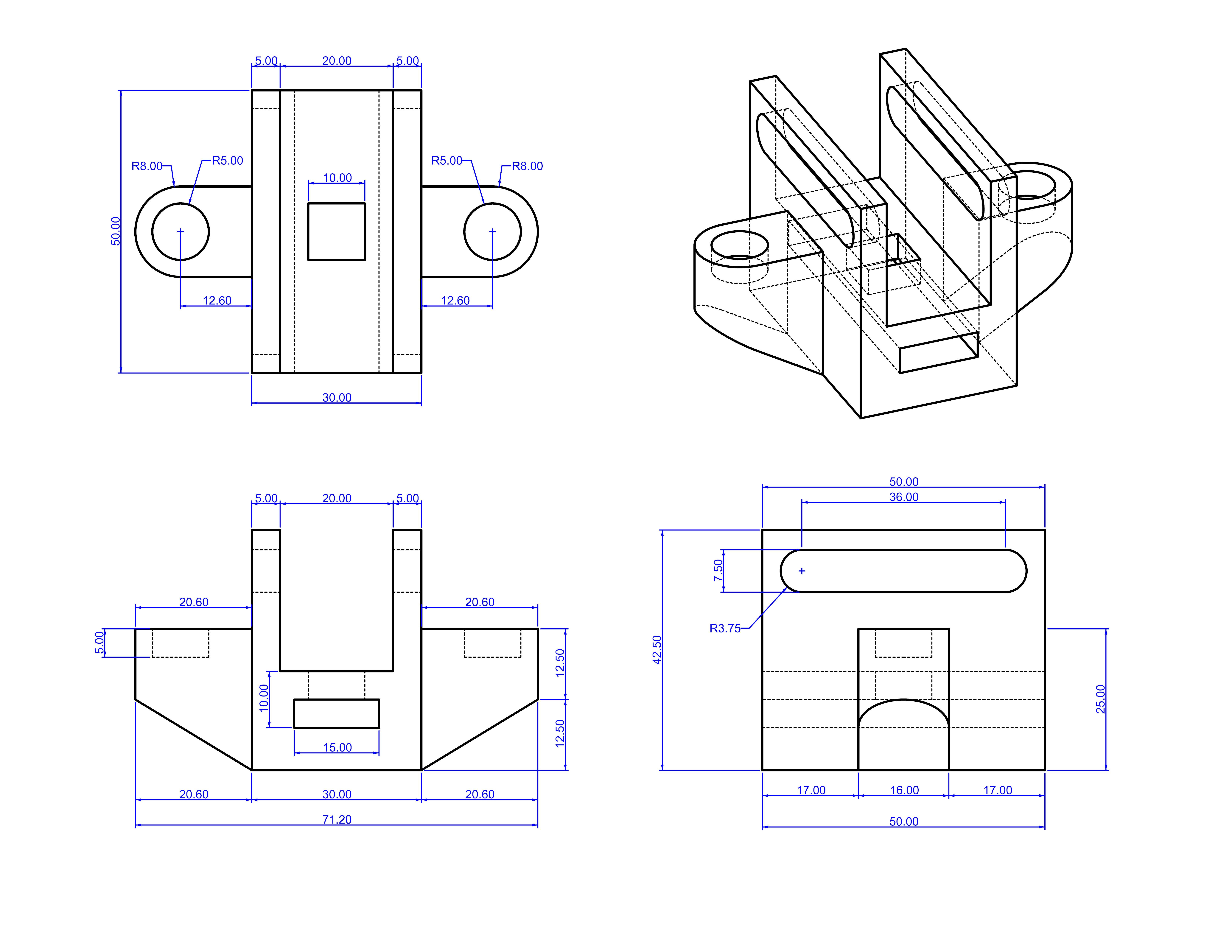 Clase 15 diferencias booleanas con s lidos y planos de for Planos de construccion
