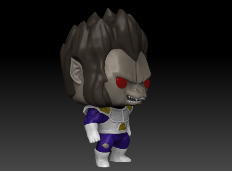 Vegeta mini toy 3D File