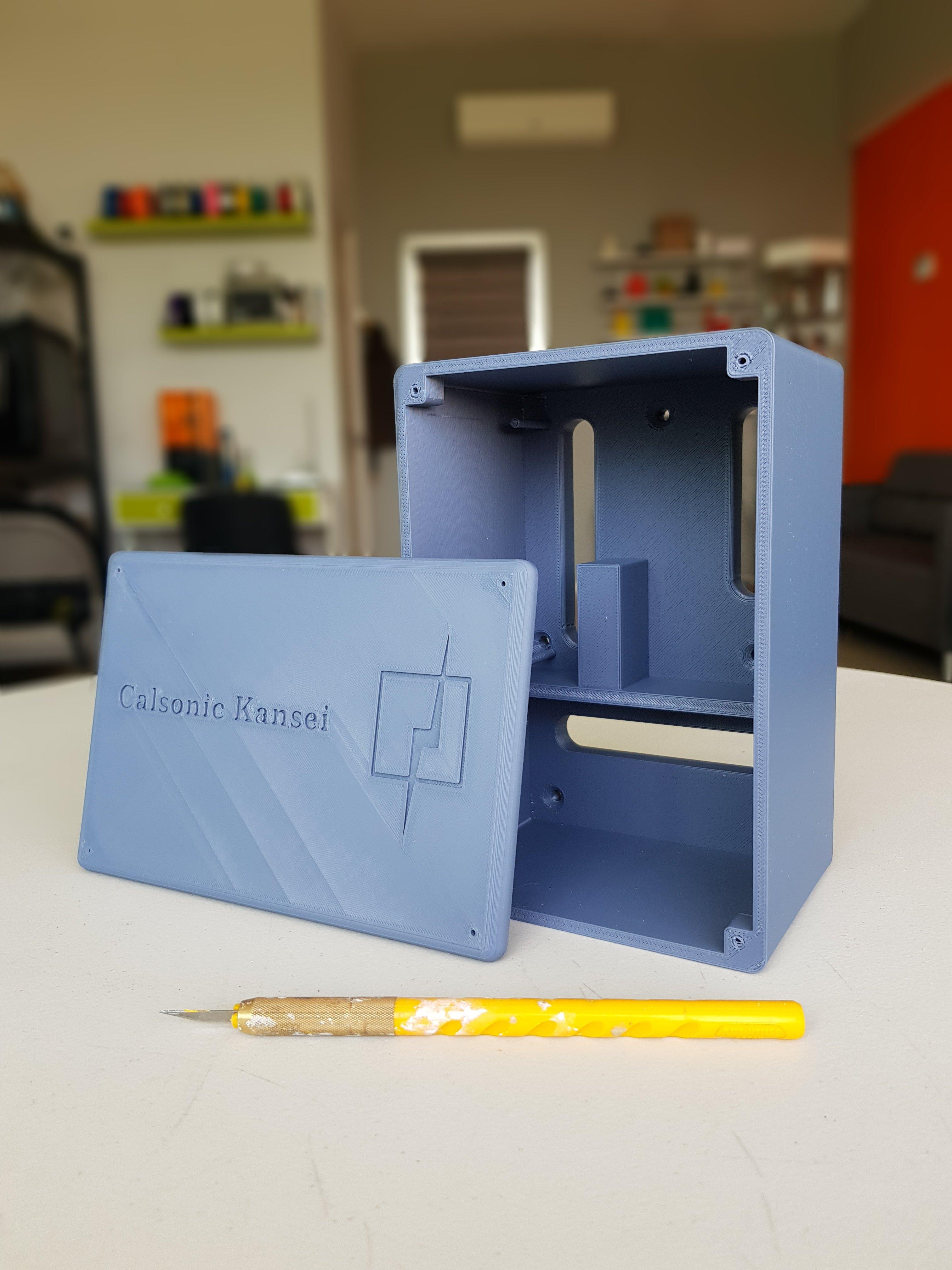 Impresión 3D carcasa para CEPROELE